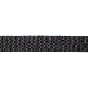 Nylon Tassenband 40mm Zwart  (per meter)