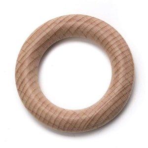 Beukenhouten ring krt 1 stk 70mm