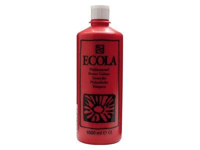 Ecola (Talens Plakkaatverf) 1000 ml nr. 334 Scharlaken