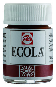 Ecola (Talens Plakkaatverf)  16 ml nr. 400 Bruin