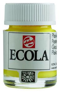 Ecola (Talens Plakkaatverf)  16 ml nr. 205 CitroenGeel