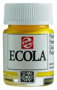 Ecola (Talens Plakkaatverf)  16 ml nr. 200 Geel