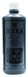 Ecola (Talens Plakkaatverf) 1000 ml nr. 700 Zwart